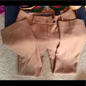 NWT The Limited Tan Nude Drew Fit Dress Pants long